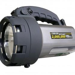 Lampe Projecteur Spotlight 3en1 Rechargeable - LED + Halogène + Fluo