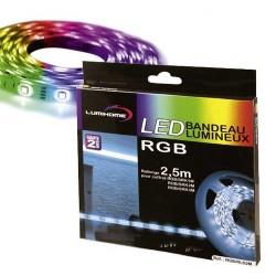 Rallonge 2,50m Ruban LED RGB