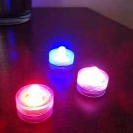 Lot de 10 Lampions LED submersibles RGB