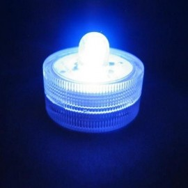 Lot de 10 Lampions LED submersibles bleu