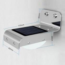 Applique Solaire Aluminium LED 1,2W