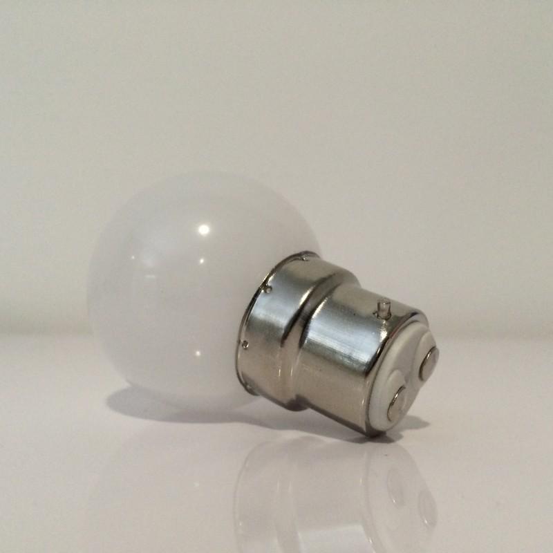 lot de 6 ampoules led b22 1w blanc froid incassable quivalence 15w. Black Bedroom Furniture Sets. Home Design Ideas