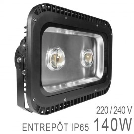 Projecteur Professionnel 140W LED COB Industriel