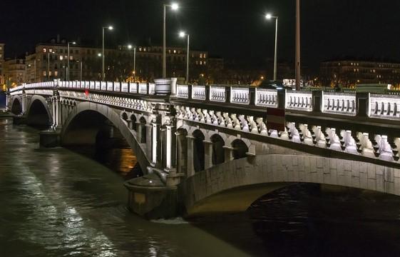 Pont Wilson à Lyon