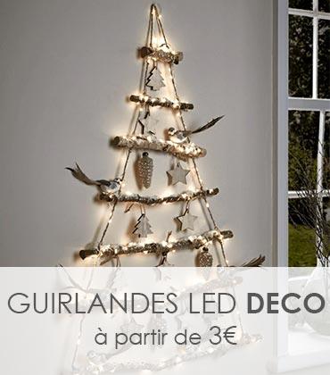 guirlandes LED pour votre sapin ou votre intérieur à Noël