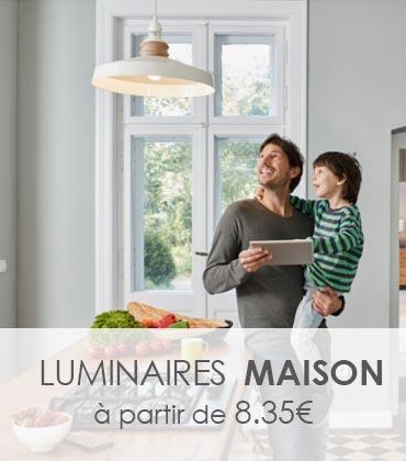 Luminaires pour la maison, choisissez le votre