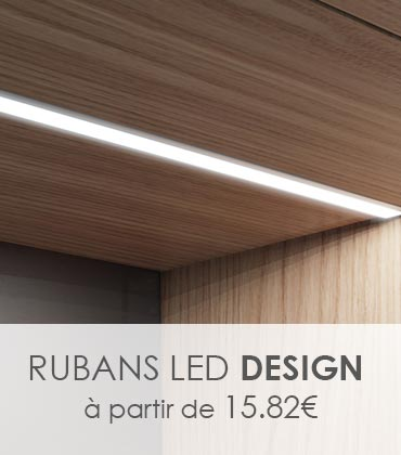 ruban LED design, monochrome ou RGB ou RGBW