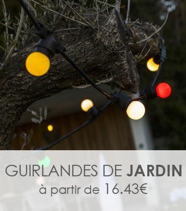 Guirlande guinguette multicolore LED