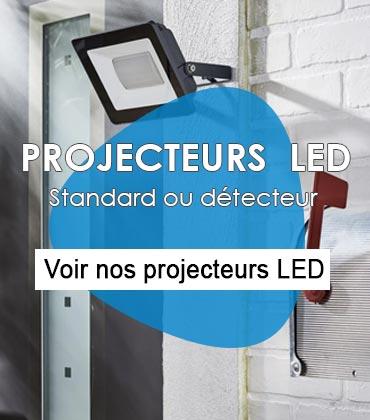Nos projecteurs LED sont ultra plats